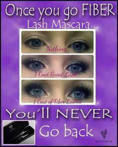 Increase your lash length and volume by 300%. No glue, mess or expense from extensions. You will never have to wear falsies again. All natural, no chemicals, no animal testing. Made from Green Tea fibers. www.beyouniquebyolivia.com