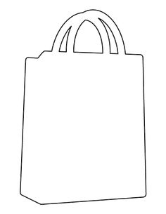 Shopping cart pattern. Use the printable outline for