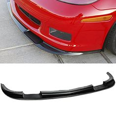 Fit 0513 Chevrolet Corvette C6 Z06 ZR1 Style ABS Front Lip Kit Splitter Bumper 2005 2006 2007 2008 2009 2010 2011 2012 2013 ** You can find more details by visiting the image link.