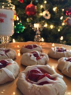 Cherry Pie Thumbprint Cookies Recipe on Yummly