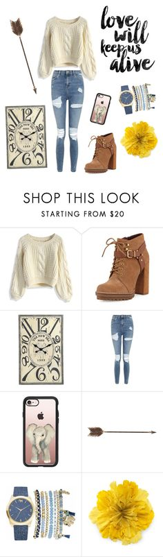 """""""Be you, just be you"""" by natushkiii ❤ liked on Polyvore featuring Chicwish, BCBGeneration, Artisan, Topshop, Casetify, Creative Co-op, Prada, Mixit and Gucci"""
