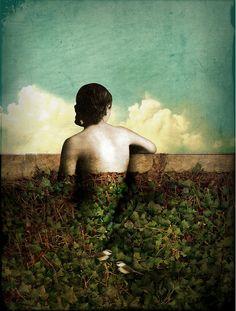 Dreamy Digital Art by Catrin Welz-Stein