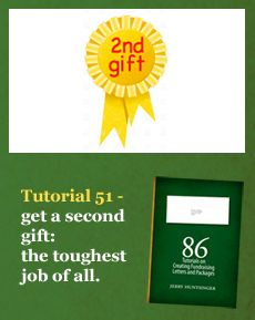 Tutorial 51 - get a second gift: the toughest job of all | SOFII