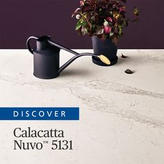 Caesarstone Calacatta Nuvo™, an interpretation of natural Calacatta marble with wide, elegant, cascading, grey veins on a white base. Calacatta Nuvo™ makes an unforgettable impression and enhances any interior with a touch of high-end indulgence. Calacatta Nuvo, Neptune Kitchen, Kitchen Reno, Countertops, Bathrooms, Kitchens, Base, Touch, Interior Design
