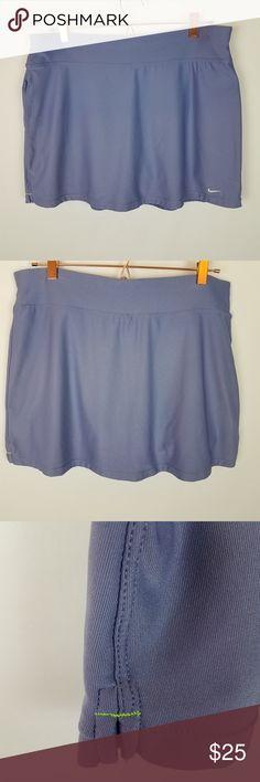 536b0f85d7f531 Nike Dri-Fit Running Tennis Skort Size XL Lavender Nike Dri-Fit Running  Tennis