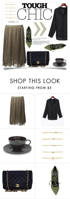 """Twinkle Deals 11/90"" by amra-mak ❤ liked on Polyvore featuring Chanel, Casadei and twinkledeals"