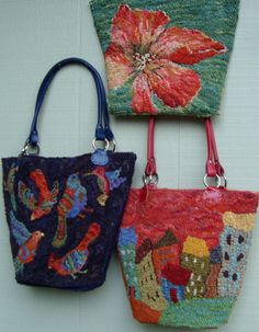 3 new tote bags by Sharon A Smith