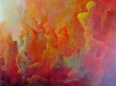 Vidas Pasadas  200 x 150 cms  Acrilico sobre lienzo  2013