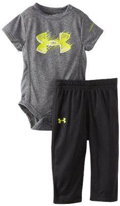 Under Armour Baby-Boys Newborn Light Speed Bodysuit Set, Grey, 3-6 Months Under Armour,http://www.amazon.com/dp/B00E0FWYSC/ref=cm_sw_r_pi_dp_.SIksb1V65E95HN1
