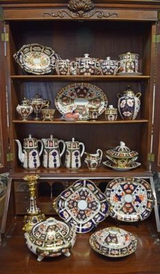 A grouping of Vintage Royal Crown Derby Imari #imari #royalcrownderby #vintage