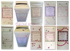 we keep making wedding postboxes! here are one or two of our designs that have been made into a Postbox recently www.wearetickledpink.co.uk