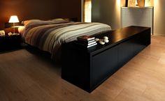 Balterio Infinity una opción ideal para el hogar con verdadera sensación de madera Bed, Furniture, Home Decor, Flooring, Wood, Home, Decoration Home, Room Decor, Home Furniture