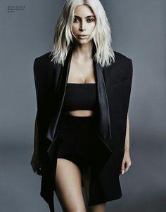 Kim Kardashian by Jan Welters for Elle Korea July 2015
