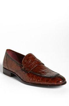 online store 72e12 bbb74 Mezlan+ Narni +Crocodile+Loafer+available+at+ Nordstrom ‼