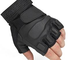 Tirain Military Half Finger Fingerless Tactical Airsoft Hunting Riding Cycling Gloves Outdoor Sports Athletic Biking Fingerless Gloves | Riding Jerseys | Cycling and riding apparel