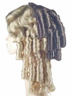 Lacey Southern Belle Attachment Costume Wig • Lacey - Wendy Darling Peter Pan