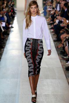 #TORY #BURCH LORS DE LA FASHION WEEK DE #NEW #YORK PRINTEMPS ETE 2015. Click here; http://fashionblogofmedoki.blogspot.be