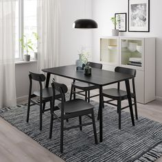 IKEA Latvia - Pērc mēbeles, gaismekļus, interjera priekšmetus un daudz ko citu Table Legs, Table And Chairs, Dining Chairs, Bar Chairs, Lounge Chairs, Room Chairs, Office Chairs, Ikea Small Dining Table, Dining Sets