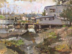 Hsin-Yao Tseng, Impressionist Figurative and Landscape painter, Portrait Painter, Cityscape painter, Award winning artist, represented by Waterhouse Gallery, Santa Barbara, California