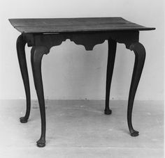 Mesa de Te Vintage de Arce (1740–60) Arce, EE.UU, Madera, Mesa de Té,