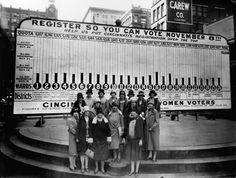 92 Years of Women Voting, in Pictures, 1924. S)