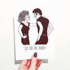 OO OO OO HONEY  My Danny and Sandy print is available to buy from my Etsy store! Clickable link is in my bio.  ______________  #etsy #etsyuk #etsyseller #etsyshop #illustration #art #drawing #design #creative #blackandwhite #draw #sketch #print #quote #film #movie #grease #greaselightning #dannyzuko #sandy #johntravolta #olivianewtonjohn #filmart #illustrate #fineliner #pen #ink #minimal