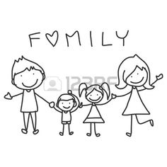 Cartoon Drawings hand drawing cartoon happy family happy lives - - Millions of Creative Stock Photos, Vectors, Videos and Music Files For Your Inspiration and Projects. Cartoon Cartoon, Cartoon Drawings, Family Drawing, Drawing For Kids, Art For Kids, Drawing Tips, Drawing Drawing, Doodle Drawings, Family Tattoos