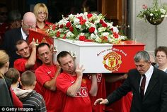 Colorful #Funerals: Manchester United Fan