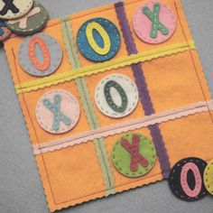 this is the best handmade tic tac toe game ever!  my son could play this for hours!!  comes w/ all pieces and it is also a bag to hold them!!