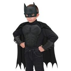 Batman costume for boys - action gear