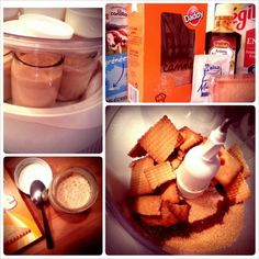 """[Recette] Yaourts maison aux biscuits """"Thé"""" de Lu Cooking Time, Creme, Yogurt, Fondant, Waffles, French Toast, Breakfast, Desserts, Food"""