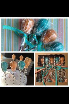 Hot Air Balloons cake pops