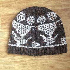 Handmade Bigfoot Knit Hat by WoollyRhinoCrafts on Etsy