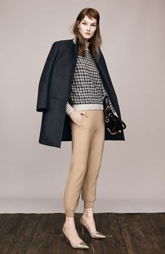 Theory Coat, Sweater & Pants | Nordstrom