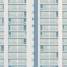 柔和光影的公寓插畫 | MyDesy 淘靈感