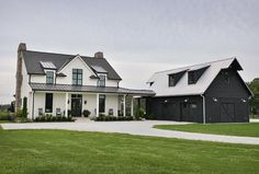 A Modern Southern Farmhouse For Sale on 20 Acres - Hooked on Houses