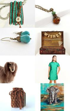 Coppery Glow by Arlene on Etsy--Pinned with TreasuryPin.com