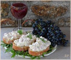 Hermelínová pomazánka Czech Recipes, New Menu, Pavlova, Finger Foods, Food And Drink, Appetizers, Cooking Recipes, Cheese, Snacks