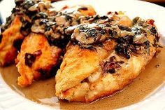 Olive Garden's Stuffed Chicken Marsala | AllFreeCopycatRecipes.com