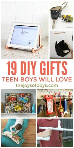 Teens are hard to buy for. These DIY gifts for teen boys are really great! #teen #gift #giftideas #GiftsforHim