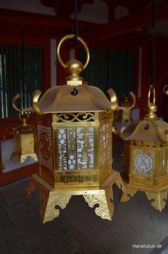 Tōrō Japanese lantern in bronze, Kasuga Taisha, Nara Japan