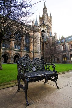 Glasgow, Scotland - I lived here for a bit and I worked at the University of Glasgow (pictured here) diggingtoroam.com