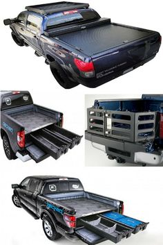 Truck bed accessories you need in your life! Click for more. Accessoires 4x4, Truck Bed Accessories, Truck Mods, Camper Van Conversion Diy, Jeep Jk, Motor Parts, Custom Trucks, Chevy Trucks, Pick Up