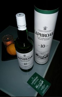 Laphroaig 10 yo. Really dividing opinion. Become a FOL
