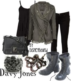 Disney Davy Jones Inspired Outfit