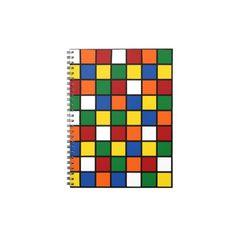 """Notizbuch Zauberwürfel/Magic Cube Design. Kennt ihr noch den sog. Zauberwürfel aus den 80iger Jahren? Ein kleines Stück Nostalgie. Das Notizbuch eignet sich auch als Tagebuch oder um eure Erinnerungen und Ideen festzuhalten bzw. zu """"smashen"""". Grafik und Entwurf bei ArianneGrafX©2013"""