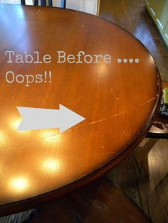 Kitchen Table and Chair Makeover With Stain and Paint - Do you have a table and chair set you are certain is ready for the dumpster? Don't get rid of it yet...A…
