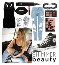 """""""#celebritylooks"""" by lousch on Polyvore featuring Topshop, Converse, BKE, Lime Crime and NARS Cosmetics"""