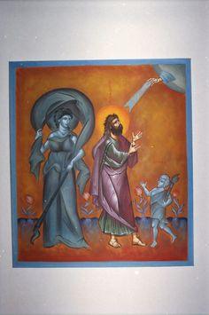 By Aggeliki Prophet Isaiah, Google Translate, Orthodox Icons, I Icon, Saints, Painting, Art, Art Background, Painting Art