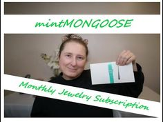 MINTMONGOOSE JEWELLERY SUBSCRIPTION UNBOXING by a CANADIAN/ Custom made ...